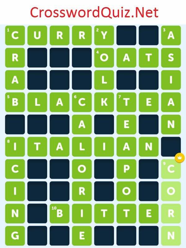 Food 2 Level 7 Crossword Quiz Net