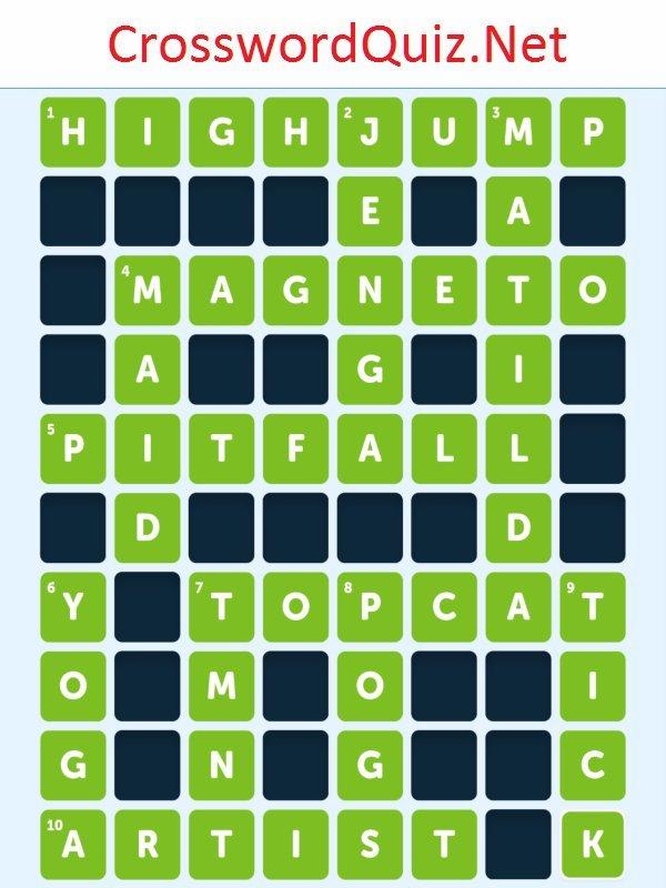 Pop Culture Level 3 - Crossword Quiz Net
