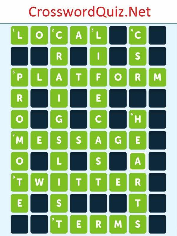 Social 2 Level 5 Crossword Quiz Net